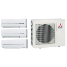 Мульти сплит-система   Mitsubishi Electric MXZ-3E54VA /MSZ-SF25VE *3