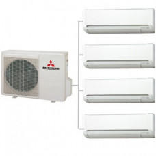Мульти сплит-система   Mitsubishi Electric MXZ-4E72VA / MSZ-SF25VE *4
