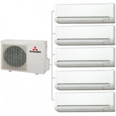 Мульти сплит-система   Mitsubishi Electric MXZ-5E102VA / MSZ-SF25VE *5